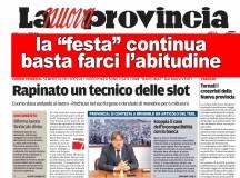 RAPINE, BASTA FARCI L'ABITUDINE!