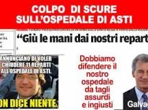 L'OSPEDALE DI ASTI  RISCHIA GROSSO. DIFENDIAMO LA NOSTRA SANITA'