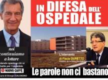 """Ospedale: non ci bastano più le parole. Il """"fondo """"del direttore de """"   La Nuova Provincia """" FLAVIO DURETTO"""