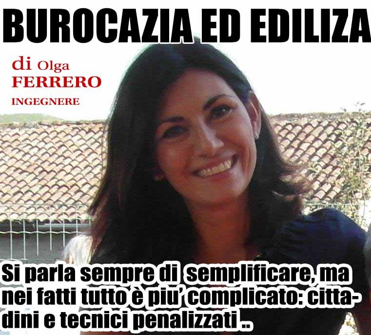 EDILIZIA E BUROCRAZIA SERVE DAVVERO  SEMPLIFICARE, NON DIRLO SOLTANTO